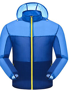 Hiking Softshell Jacket / Windbreakers / Tops Men's Waterproof / Breathable / Windproof / Anti-Insect Spring / Summer / Fall/Autumn