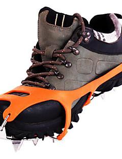 roestvrij staal stijgijzers / sneeuw ijs grab / ijsklimmen schoenen / achttien tanden sneeuw klauw
