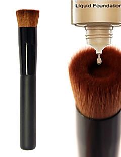 1 Кисть для основы Нейлоновая кисть / Синтетические волосы Офис / Экологичность / Антибактериальный / Переносной Дерево Лицо Прочее