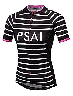 Sportovní Dámské Krátké rukávy Jezdit na koleProdyšné / Rychleschnoucí / Odolný vůči UV záření / Proti záření / Nositelný / Antistatický