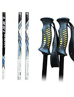 Leki ski pole ski sport kellékek / fehér és fekete