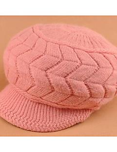 כובע כומתה (בארט) נשים יום יומי,פרוות ארנב קיץ / חורף