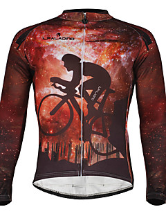 Men's Windproof Long Sleeves Winter Thermal Cycling Bicycle Jersey Jacket ZRCX722