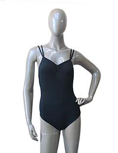 Ballet Leotards Women's / Children's Training Cotton / Lycra Pleated 1 Piece Sleeveless Leotard