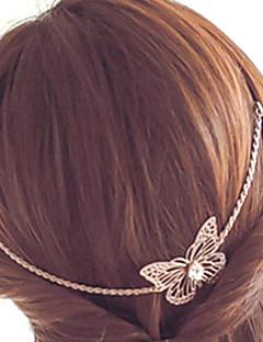 Damen Stirnband - Retro / Niedlich / Party / Freizeit Vergoldet
