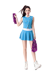 Cosplay Costumes Party Costume Cheerleader Costumes Career Costumes Festival/Holiday Halloween Costumes Solid Top Skirt More Accessories