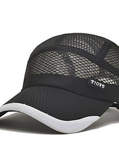 Caps / Chapéu Confortável / Protecção Unissexo Esportes Relaxantes / Basebal Primavera / Verão Cinzento / Preto