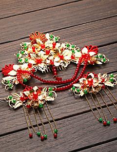 Acessórios Lolita Lolita Clássica e Tradicional Decoração de Cabelo Inspiração Vintage Dourado Lolita Acessórios Decoração de Cabelo Para