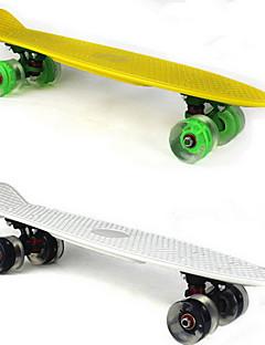 Fém Normál SkateboardsFehér Sárga