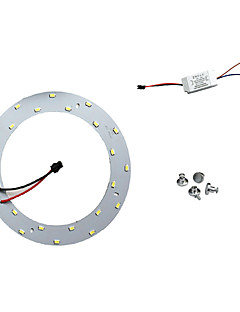 12w bianco 6500k 5730 x 24 smd led pannelli luminosi a soffitto con magnete potere