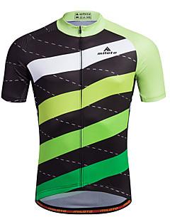 Bike/Cycling Shirt / Sweatshirt / Jersey Men's Short SleeveBreathable / Moisture Permeability / Quick Dry / Reflective