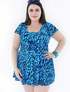 High Quality Plus Size Women Two Pieces Swimwear Free Wire 2 Colors Swimsuit 58-64