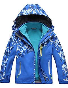 Vandring Softshell-jakker Børn Unisex Vandtæt Åndbart Hold Varm Hurtigtørrende Vindtæt Ultraviolet Resistent IsolerendeForår Efterår