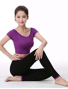 Corrida Meia-calça / Roupas de Compressão Mulheres Manga Comprida Respirável / Macio / Confortável ModalIoga / Exercício e Atividade