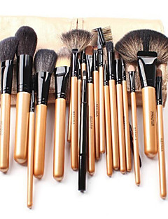 20 Makeup Brushes Set Goat Hair / Weasel / Others Travel / Portable Wood Face / Eye / Lip Others
