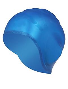 Schwimmkappen Unisex Silikon silbrig / Rot / Gelb / Blau / Schwarz / Weiß 20*15*3