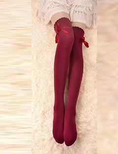 양말&스타킹 클래식/전통적 롤리타 레이스-업 로리타 액세서리 스타킹 리본매듭 에 대한 면