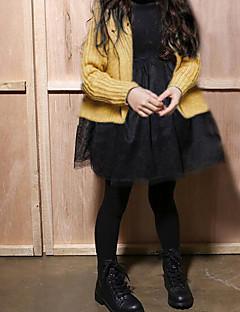 Mädchen Anzug & Blazer Lässig/Alltäglich einfarbig Baumwolle Winter Herbst