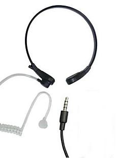 Neckband אוזניות ניצוח אוויר תחושת הגרון נגד רעש עם מיקרופון עבור samsung iphone