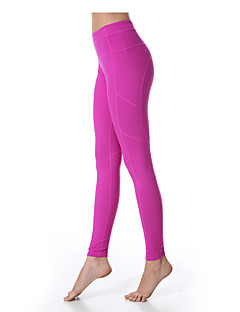 Yoga Pants Tights Breathable Quick Dry Ultra Light Fabric Compression Stretchy Sports Wear Women's Yokaland®Yoga Pilates Exercise &