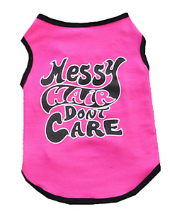 Dog Vest Dog Clothes Cute Casual/Daily British Rose