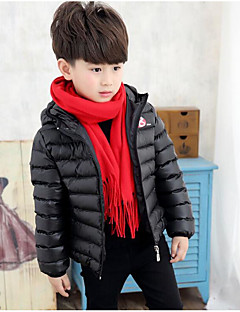 Boy Casual/Daily Solid Suit & Blazer,Modal Winter Long Sleeve