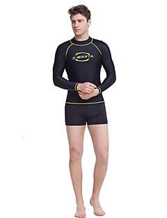 צלילה & מפרש® לגברים חליפות צלילה צמרות חליפת צלילהעמיד למים נושם שמור על חום הגוף ייבוש מהיר עמיד אולטרה סגול הגנה בפני קרינה לביש נוח