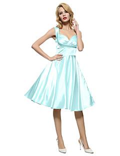 Maggie Tang Women's 50s VTG Retro Rockabilly Hepburn Pinup Bridesmaid Cos Party Swing Dress 562