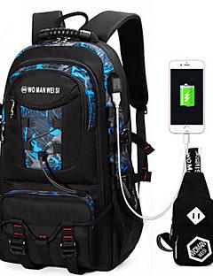 Unisex Taschen Ganzjährig Oxford Tuch Bag Set mit für Normal Sport Blau