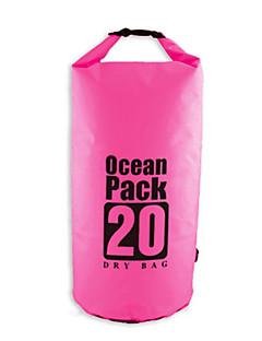 20L L Vízálló Dry Bag Compression Pack Kempingezés és túrázás Úszás Tengerpart SzabadtériVízálló Gyors szárítás Párásodás gátló Lebegő