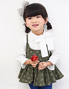 Girl Casual/Daily Holiday School Polka Dot Floral Tank & Cami,Polyester Spring Fall Sleeveless