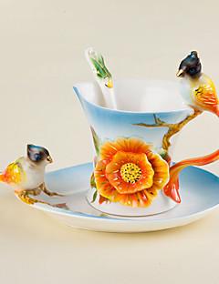 Neuheiten bei Tassen und Gläsern Teetassen Weingläser Wasserflaschen Kaffeetassen 1 PC Keramik, -  Gute Qualität