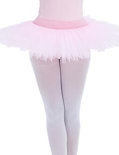 בלט חצאיות טוטו וחצאיות בגדי ריקוד נשים בגדי ריקוד ילדים ביצועים כותנה טול לייקרה שחבור חלק 1 Tutus