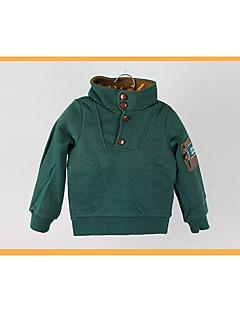 Fritid/hverdag Hettegenser og sweatshirt Ensfarget Rayon Vår Høst Langermet Normal