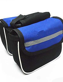 Mountain Bike Bag Saddle Bag on the Tube Package Riding Equipment Accessories Random Color