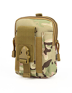 1 L Cell Phone Bag Camping & Hiking Hunting Outdoor Dust Proof Wearable Camouflage Nylon canislatrans