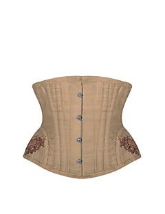 여성 언더버스트 코르셋 잠옷,섹시 Kontor/företag 자카드-여성의 중간 폴리에스테르