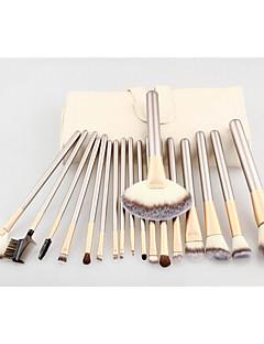 18pincel para contorno Conjuntos de pincel Pincel para Blush Pincel para Sombra Pincel para Lábios Pincel de Sombrancelha Pincel para
