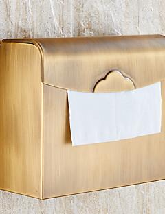 トイレットペーパーホルダー 新古典主義 矩形 真鍮