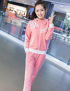 merkki 2017 uutta naista&# 39; s kevään ja syksyn neuletakki villapaita naisten Korean muoti hupullinen pitkähihainen verkkarit puvun