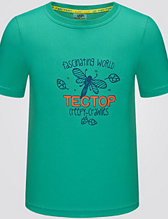 Kid's Tops Leisure Sports Quick Dry Summer Yellow GreenM L XL