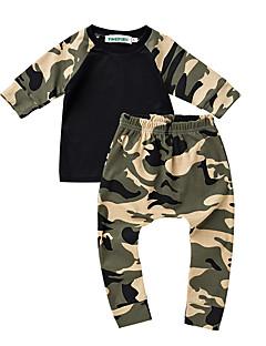 bébé Garçon Décontracté / Quotidien Imprimé Ensemble de Vêtements,Dessin Animé Eté Printemps Automne