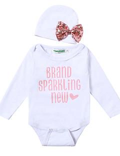 Bebek Kız Çocuk Günlük/Sade Çizgili Kıyafet Seti,Çizgili Yaz Bahar Sonbahar