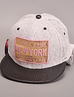 女性のファッション甘い綿レース野球帽太陽の帽子のパッチワークカジュアルな休日の夏四季
