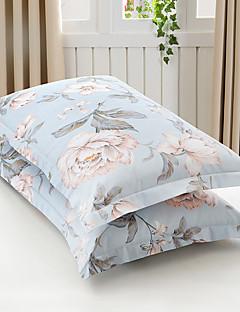 花柄 布団カバーセット 2個 コットン ポリ/コットン パターン 反応染料 コットン ポリ/コットン クィーン 幅224 x 長さ234cm 2×枕カバー