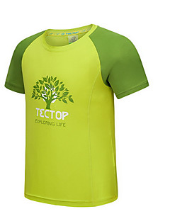 Kid's Tops Leisure Sports Quick Dry Summer Yellow PinkM L XL