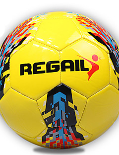 Høy Elastisitet Holdbar-Fotball(Gul,PU)
