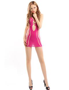 Dámské Ultra sexy Noční prádlo Sexy Jednobarevné-Bavlna Střední Dámské