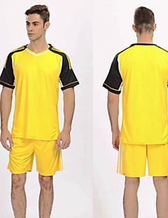 Homme Football Ensemble de Vêtements Respirable Confortable Printemps Eté Hiver Automne Mosaïque Polyester Football