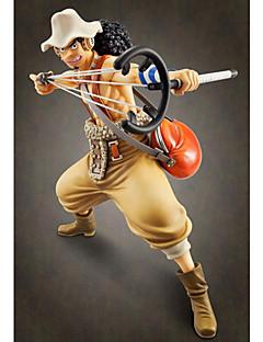 アニメのアクションフィギュア に触発さ ワンピース Usopp PVC 24 cm モデルのおもちゃ 人形玩具